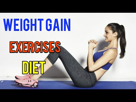 Best Exercises and Diet To Gain Weight