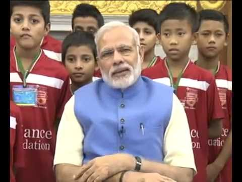 PM's speech at launch of Reliance Foundation Youth Sports, through video conference