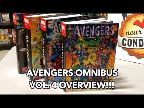 Avengers Omnibus Volume 4 Overview!!