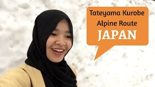 Kurobe Japan  city photo : Travel Story Ad(In) Japan: Tateyama Kurobe Alpine Route