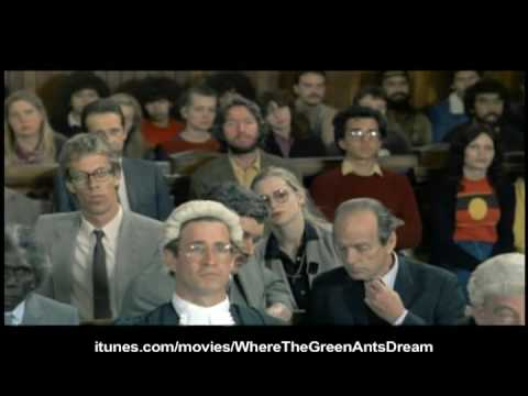 NewVideoDigital - Now on iTunes: http://www.itunes.com/movies/WhereTheGreenAntsDream In the wilds of Australia, aboriginal tribe culture is threatened by a giant corporation t...