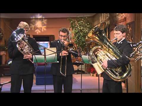 Salvation Army Brass Band  'Good Christian Men Rejoice'