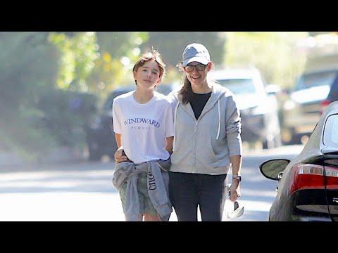 Jennifer Garner Enjoys Quality One-On-One Time With Seraphina