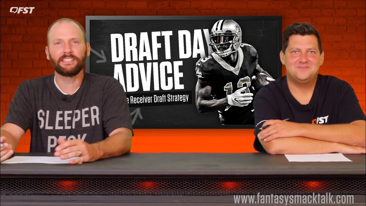 2020 Fantasy Football Wide Receiver WR Draft Strategy thumbnail