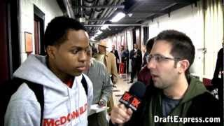 Yogi Ferrell - 2012 McDonald's All American Game Interview