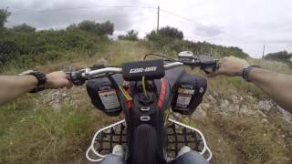 1. Can-Am ds 450 Urban Zone Top Speed (HD)