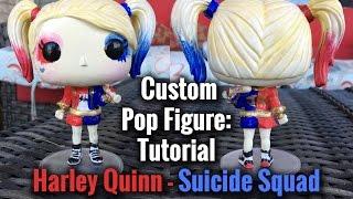 Suicide Squad Harley Quinn DIY Custom Pop Figure Tutorial
