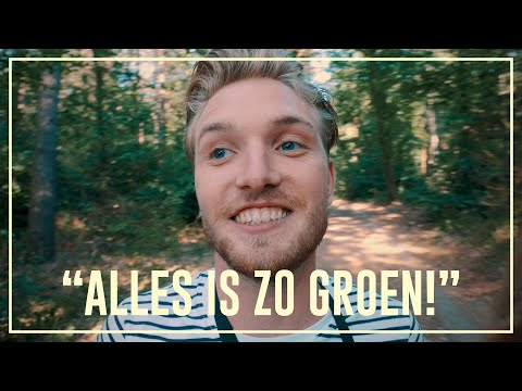Bastiaan takes MDA in the forest | Drugslab