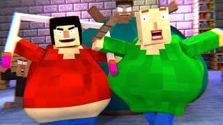 BALDI'S BASICS HORROR GAME - Minecraft Animation