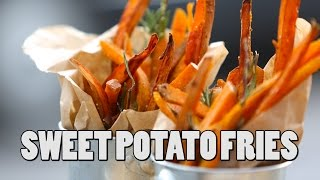 SWEEY POTATO FRIES | RECIPE by Food Busker