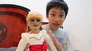 Video BONEKA ANABEL (Anabelle Doll) percobaan Vlog ke 2 sama boneka hantu SERAM!! MP3, 3GP, MP4, WEBM, AVI, FLV Maret 2018