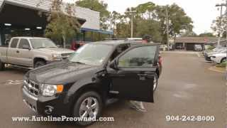 Autoline's 2008 Ford Escape Limited Walk Around Review Test Drive