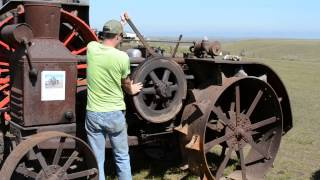 2. Starting a 25-40 Rumely Oilpull
