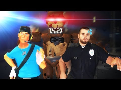 Garrys Mod - FIVE NIGHTS AT FREDDY'S CITY SURVIVAL?! (Garry's Mod Gameplay Gmod Roleplay) FNAF DISASTER SURVIVAL!