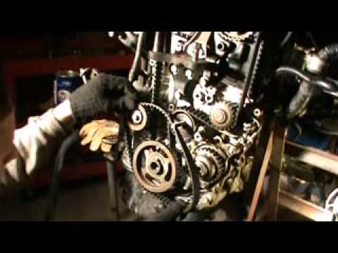 How to replace timing belt on Honda Prelude 92-96 2.3 lt H23a1