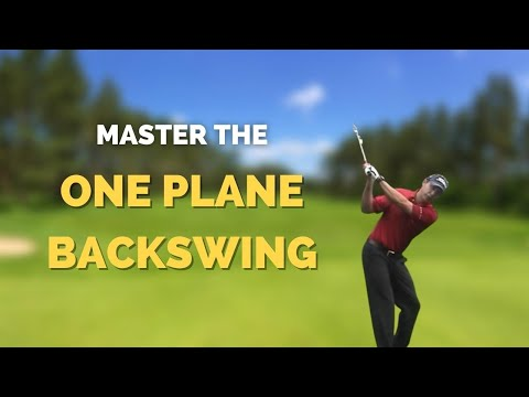 Golf Instruction – One plane backswing