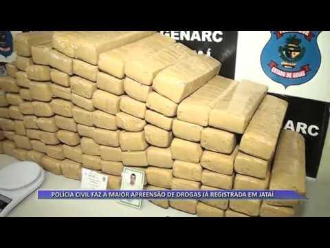 JATAÍ | Polícia Civil faz a maior apreensão de drogas já registrada no município