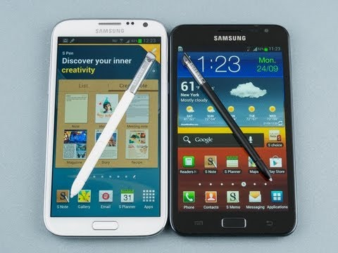 Samsung Galaxy Note II vs Samsung Galaxy Note