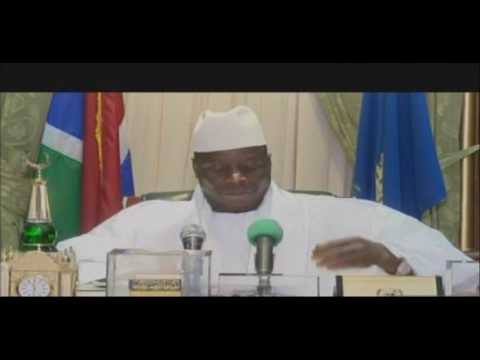 YAHYA JAMMEH REJECT THE ELECTION RESULT