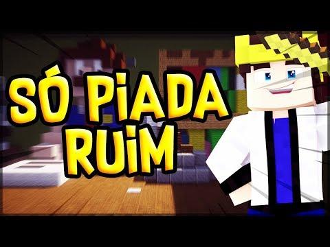 Piadas engraçadas - Minecraft: MURDER DAS PIADA RUIM