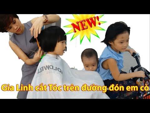 Haircuts For Baby Girls Gia Linh Cắt Tóc Tại Tiệm Cắt Tóc Thời Trang Trên Đường Đón Em Cò Đi Học Về