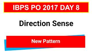 In this video i am explaining  Direction Sense New Pattern Problems for IBPS PO  CLERK  IBPS PO RRB  CLERKJoin Telegram Channel : https://t.me/studysmartbychandrahasLike Our Facebook Page: https://goo.gl/s4l4ZOFollow us on Twitter: https://goo.gl/rvVpDLJoin Our Facebook Group : https://goo.gl/fGDu1d******************************************************Word Power Made Easy Series : https://goo.gl/6siIR5Coding- Decoding New Pattern: https://goo.gl/SnrS6MEconomics Lectures: https://goo.gl/XUYM30Reasoning for SBI PO: https://goo.gl/61e9miSyllogism New Pattern: https://goo.gl/KvzfbJEnglish New Pattern : https://goo.gl/Ci290cData Sufficiency: https://goo.gl/NSxIUaAll Reasoning Ability Videos : https://goo.gl/o4BwxSAll Quantitative Aptitude Videos: https://goo.gl/p8jorgBinary Coding : https://goo.gl/Y2NN5ZCoding Decoding : https://goo.gl/TfxEsySpotting Error : https://goo.gl/Xdll51Order and Ranking : https://goo.gl/yM9tYuStatic Gk : https://goo.gl/uEIPSLAlphanumeric Series : https://goo.gl/UKOEJFMensuration : https://goo.gl/WcrD0UDirection Sense : https://goo.gl/3z1qGUComputer Awareness Videos : https://goo.gl/OccvRSAverage Aptitude Tricks : https://goo.gl/t84F1lReasoning puzzle tricks : https://goo.gl/eKnb8CRatio and Proportion Tricks: https://goo.gl/Zepp2LPartnership Problems Tricks For IBPS PO :https://goo.gl/0pUwqnTime And Work Problems Shortcuts and Tricks: https://goo.gl/qn15TpPercentage Problems Tricks and Shortcuts: https://goo.gl/krGtAeTime Speed and Distance : https://goo.gl/unELgnProbability : https://goo.gl/FswNBmMixture and Alligation Tricks : https://goo.gl/TBqbEN Blood Relation Tricks : https://goo.gl/yAOE2CPermutations and Combinations Tricks : https://goo.gl/gSALX0Quadratic Equations Tricks : https://goo.gl/ZDyDkWProfit and Loss Tricks: https://goo.gl/NOO6p6Number Series Tricks: https://goo.gl/qcvqejBanking Awareness (Static) : https://goo.gl/JelscLInequalities Short tricks: https://goo.gl/qQo2kcSpeed Maths video : https://goo.gl/7er1OQSimplification And A