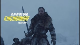was a pretty ez match, jon snow is OP as hell - he has massive plot armour and his weeb stick basically counters all of the...