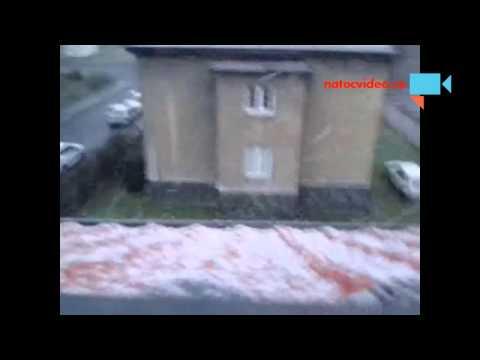 konečně sněžì v ZIMĚ