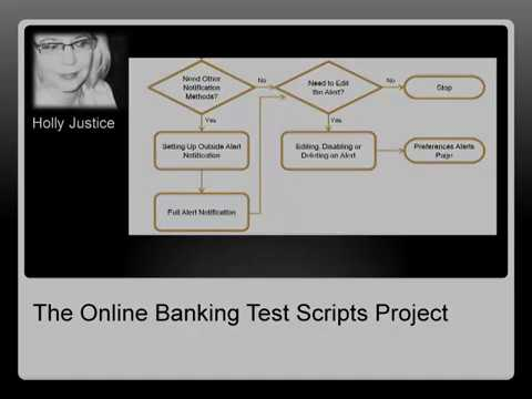 The Online Banking Test Scripts Project