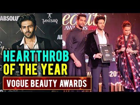 Kartik Aaryan Wins Heartthrob Of The Year At Vogue