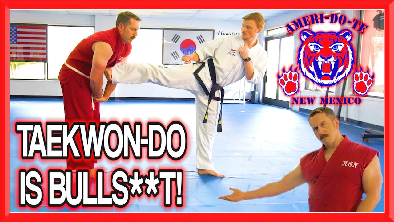 TAEKWON-DO is BULLS**T | Master Ken & GNT