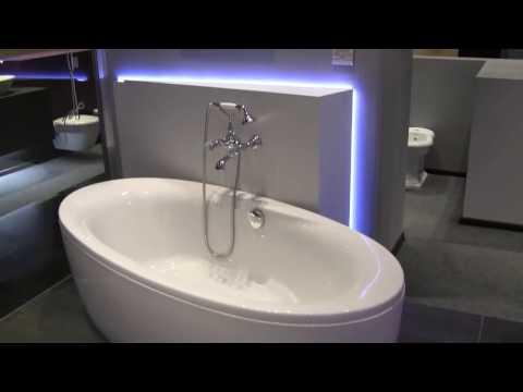 Oświetlenie LED nad umywalką