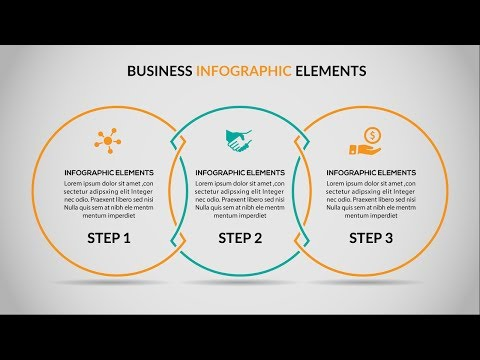 Business Infographics Vector Adobe Illustrator CC Tutorial