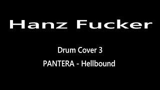 Video Hanz Fucker - Drum Cover - PANTERA ( Hellbound ) TAMA-SILVERSTAR