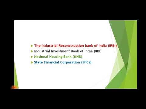 Development financial institutions | IRBI | IIBI | NHB | SFCs ||malayalam
