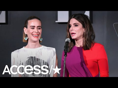 Sarah Paulson On Having Sandra Bullock Honor Her: 'It Must Mean She Maybe Actually Likes Me!'