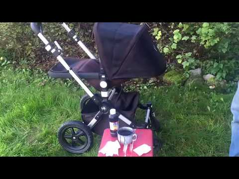 Dying Stroller Fabrics: a Demonstration
