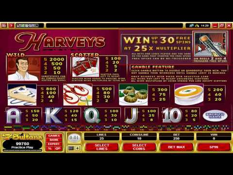 Casino Games: Play Harvey video slot at 7 Sultans internet Casino