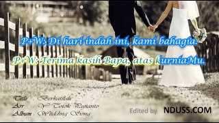 Download Lagu Berkatilah - Totok Pujianto (Lagu Pernikahan Rohani + Lirik) Mp3