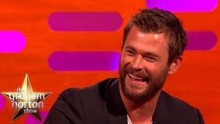 Video Best of Chris Hemsworth on The Graham Norton Show MP3, 3GP, MP4, WEBM, AVI, FLV Agustus 2019