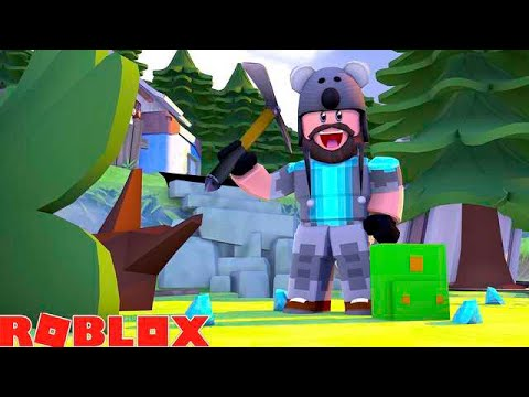 CUTTING TREES WITH LASER BEAMS!!  ROBLOX WOODCUTTING SIMULATOR