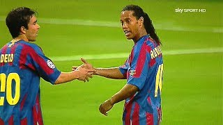 Video Ronaldinho in Messi SHADOW ● 5 Times Messi Outshined Ronaldinho Totally ¡! MP3, 3GP, MP4, WEBM, AVI, FLV November 2018