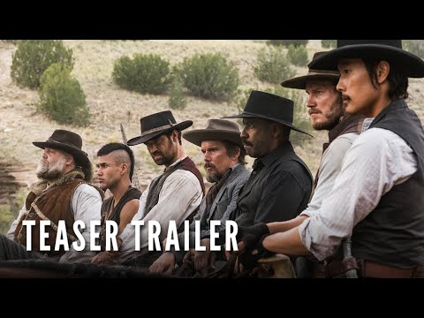 SNEEK PEEK...THE MAGNIFICENT SEVEN..Denzel is back