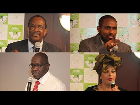 Stick to the law or get locked out, IEBC warns presidential aspirants