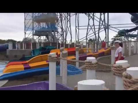 Tour of Cedar Point Shores Water Park in Sandusky. (видео)