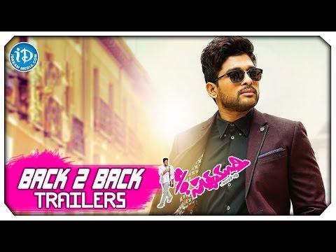 S/O Satyamurthy Back To Back Trailers - Allu Arjun || Samantha || Trivikram || DSP