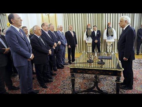 Ελλάδα: Ορκίστηκε η νέα κυβέρνηση