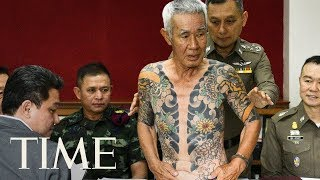 Download Video Viral Tattoo Photos Lead To Arrest Of Fugitive Yakuza Member, Thai Police Say   TIME MP3 3GP MP4