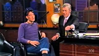 Shaun Micallef Interviews <b>Courtney Taylor Taylor</b> From The Dandy Warhols On Micallef Tonight