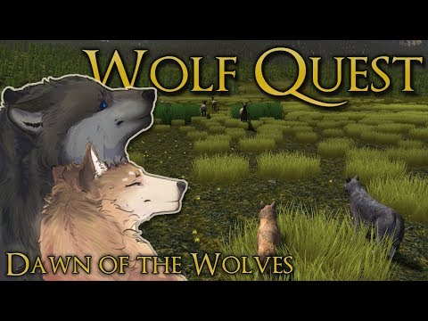 Battle in Stranger Wolf Territory?! 🐺 Wolf Quest: Dawn of the Wolves • Season 2: Episode #7